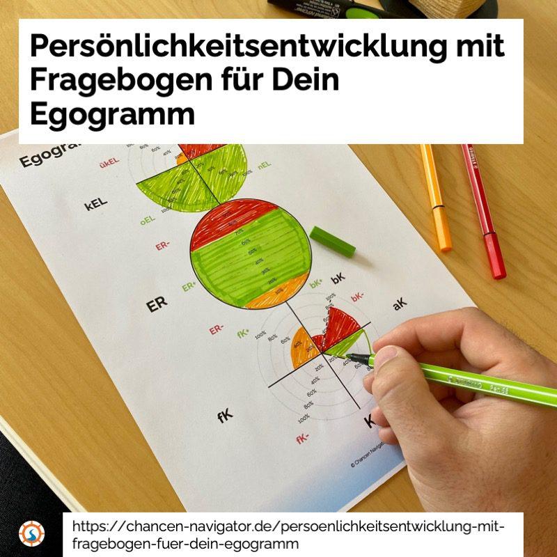 Persönlichkeitsentwicklung, Fragebogen, Egogramm